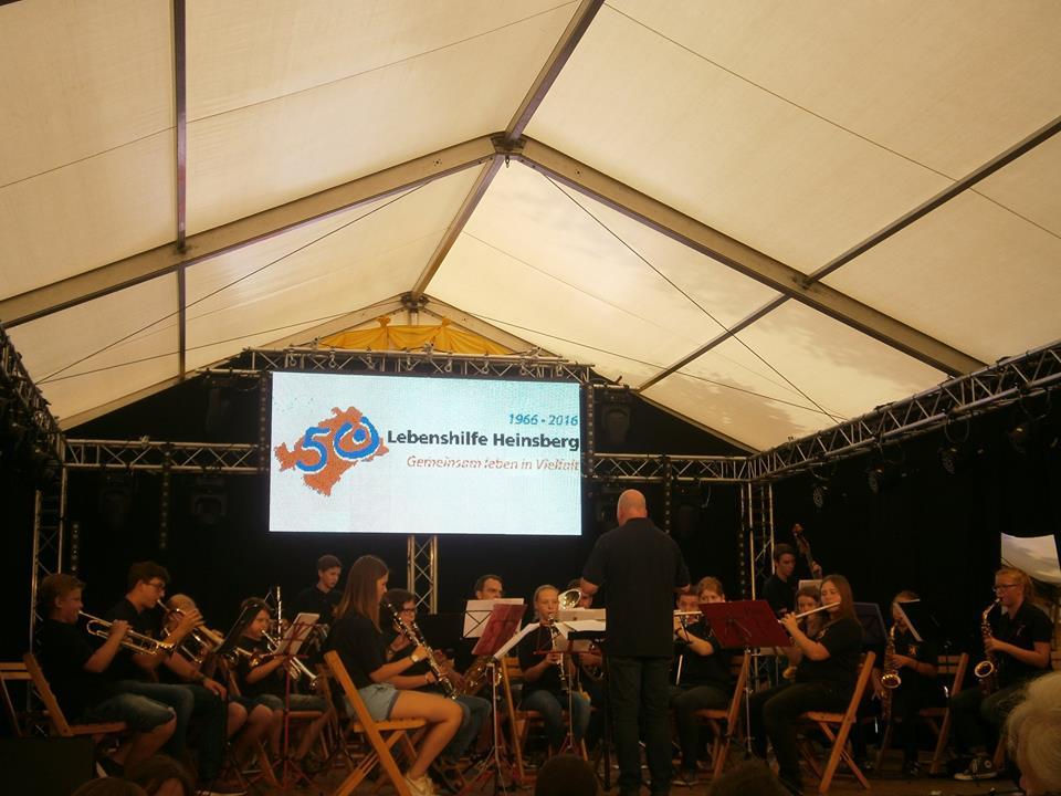 Abschiedskonzert von unserem langjährigen Dirigenten des Jugend- bzw. Schülerorchesters Gérard Bijlmakers