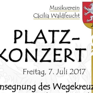Ankündigung: Platzkonzert 2017