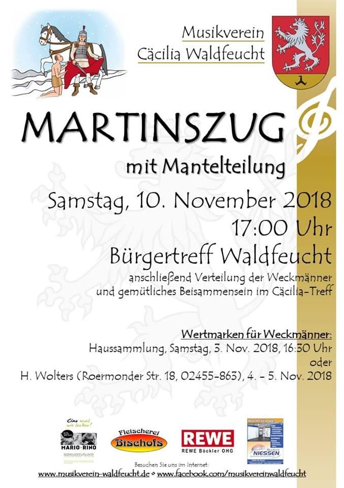 Sankt Martinsumzug 2018