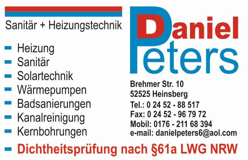 Sanitär + Heizungstechnik Daniel Peters